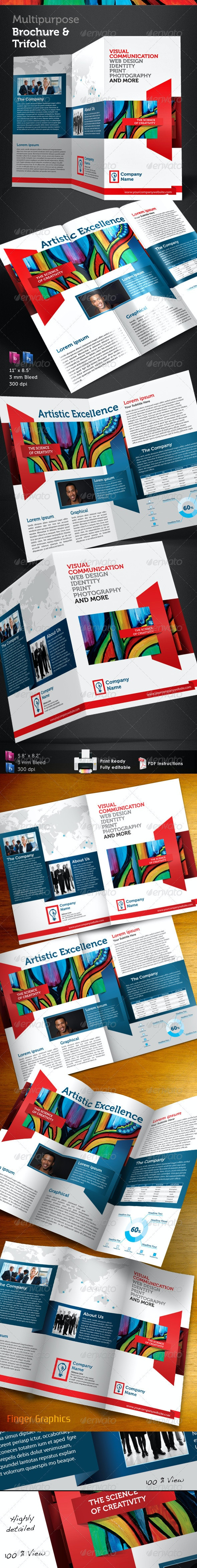 Multipurpose Brochure and Trifold - Corporate Brochures