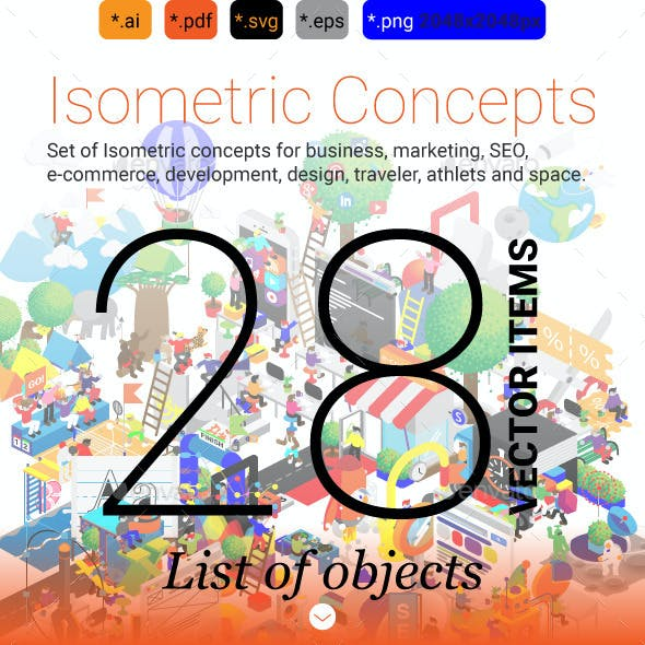 Isometric Concepts 28 items