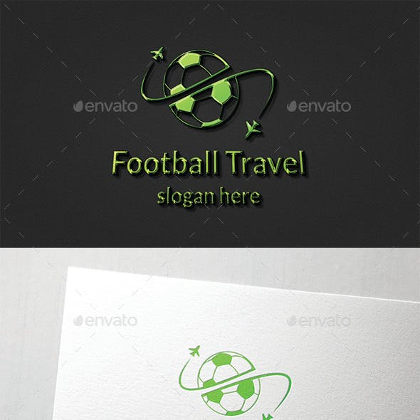 Football Travel Logo