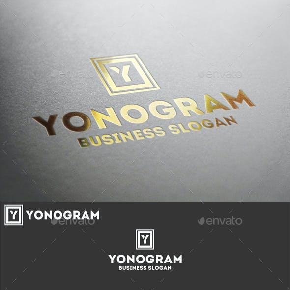 Monogram Y Logo Letter