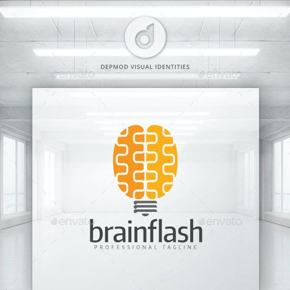 Brain Flash Logo