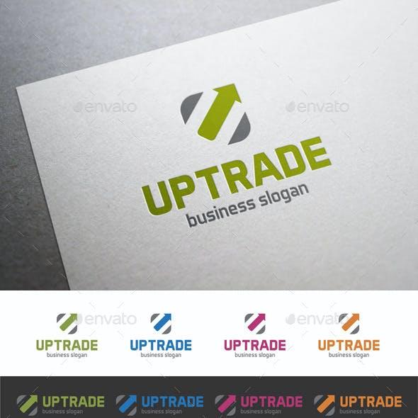Up Trade U Logo Letter