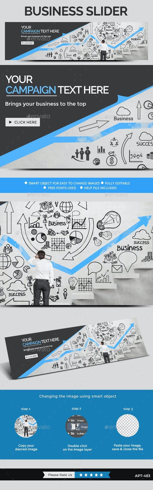 Business Slider - Sliders & Features Web Elements