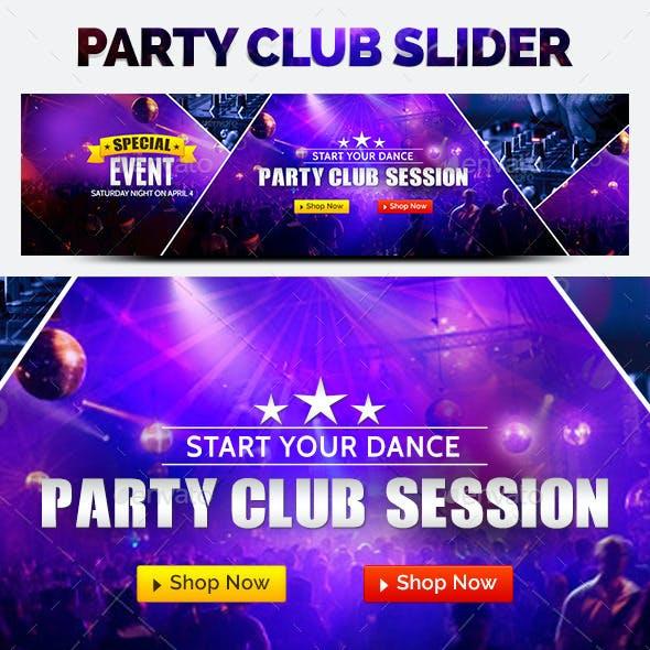 Night Club Slider