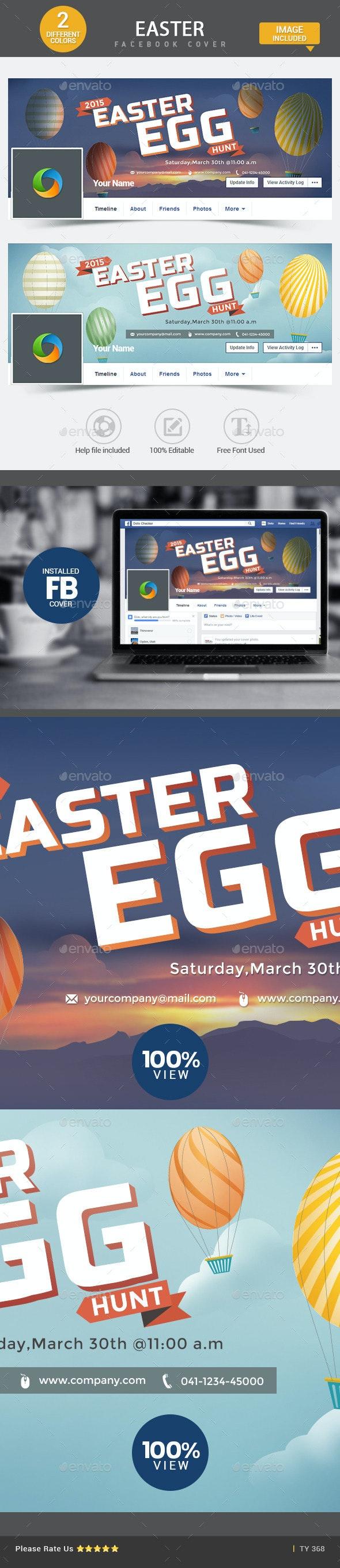 Easter Facebook Cover - Facebook Timeline Covers Social Media