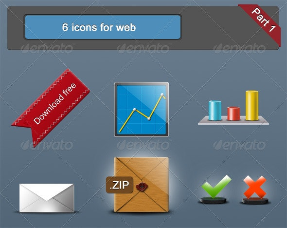 6 icons for web - Web Icons