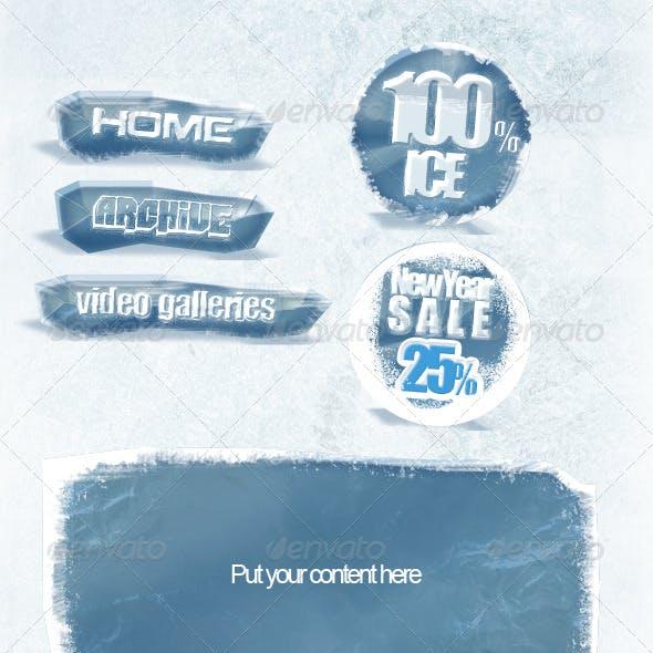 """Web Elements v2 """"Ice"""""""