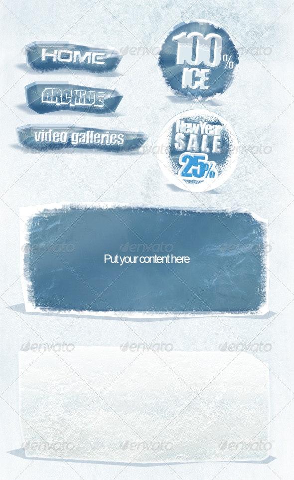 """Web Elements v2 """"Ice"""" - Web Elements"""