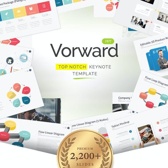 Vorward - Keynote Template