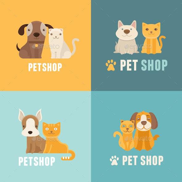 Pet Shop Symbols  - Animals Characters