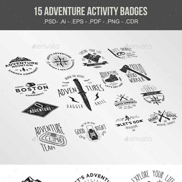 15 Adventure Activity Badges