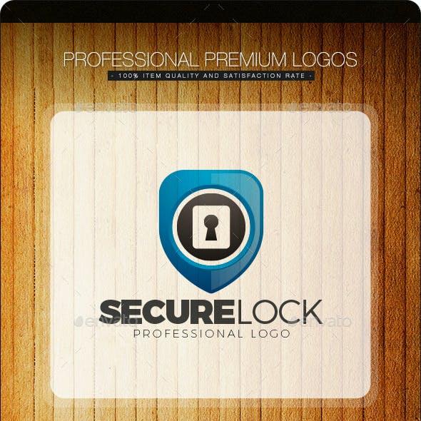 Secure Lock Logo Template