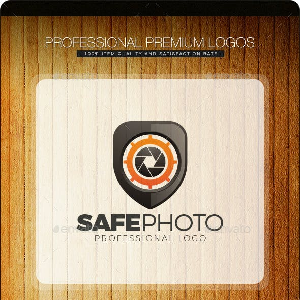 Safe Photo Logo Template