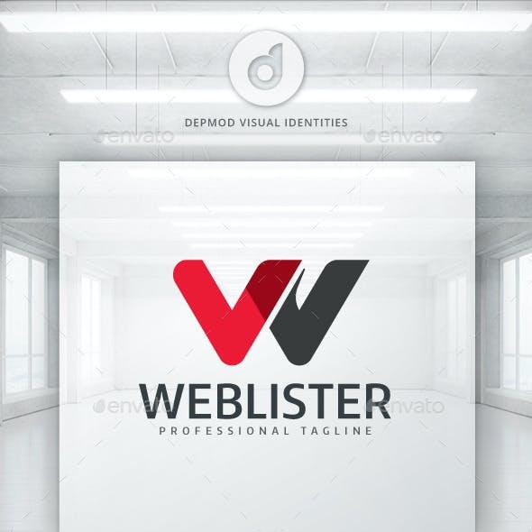 Web Lister Logo
