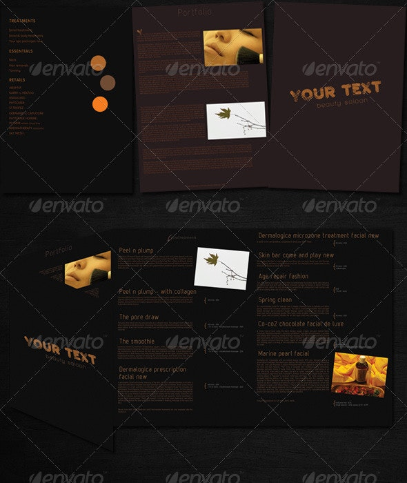 8page Brochure - Photoshop - Corporate Brochures