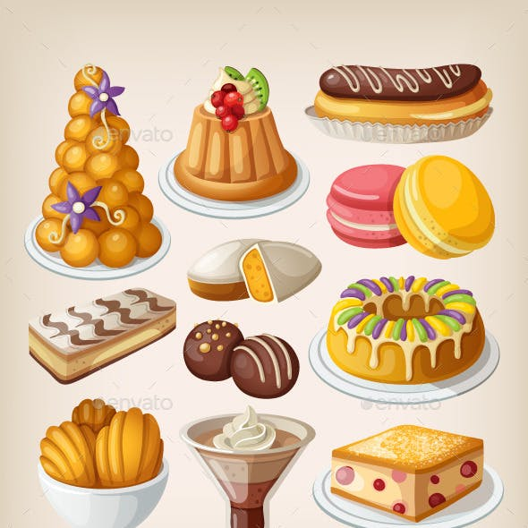 Traditional French Desserts