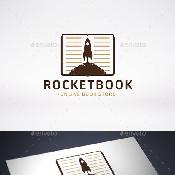Rocket Book Logo Template