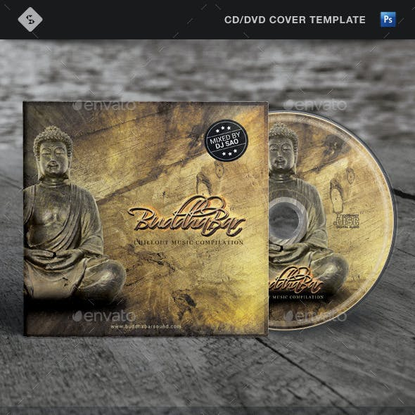 Buddha Bar - Chill Out CD Cover Artwork Template