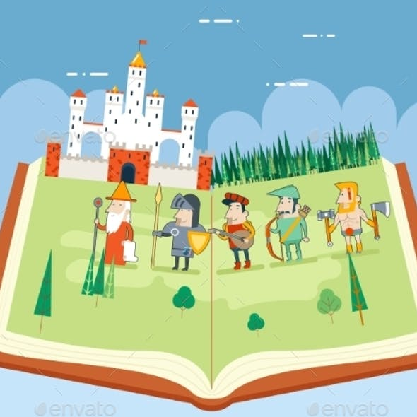 Fairy Tales History Book