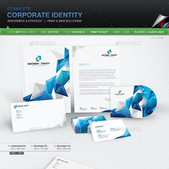 Corporate Identity - Investment And Strategy