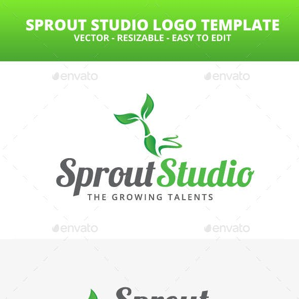 Sprout Studio Logo Template
