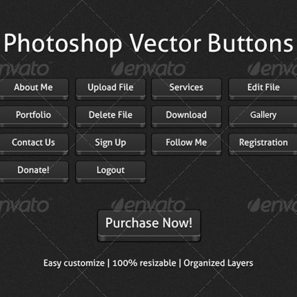 Photoshop Vector Buttons