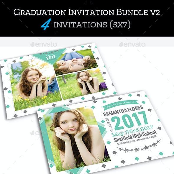 Graduation Invitation Bundle 2