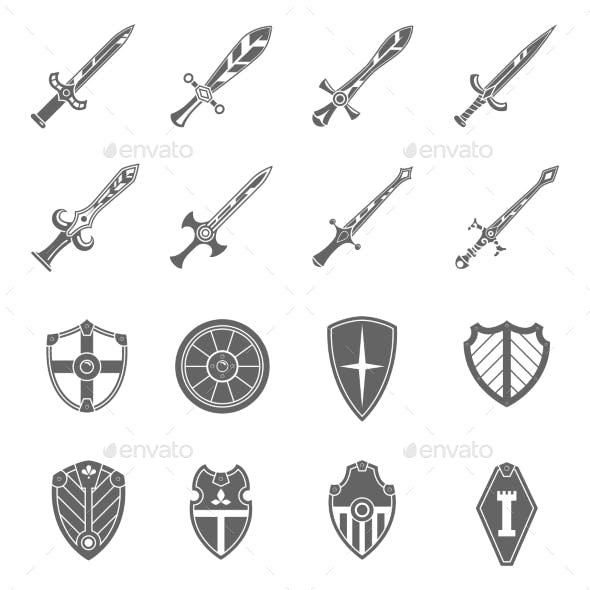 Shield Swords