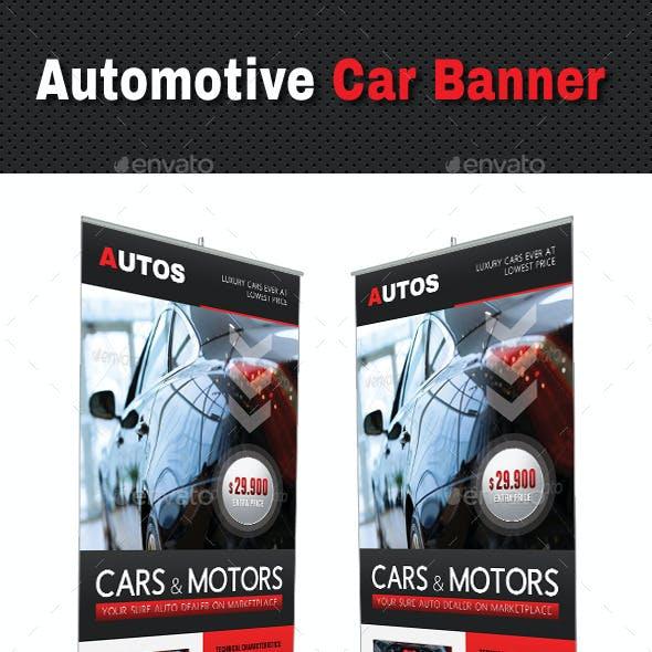 Automotive Car Banner Template V02