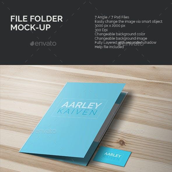 File Folder Mock-up