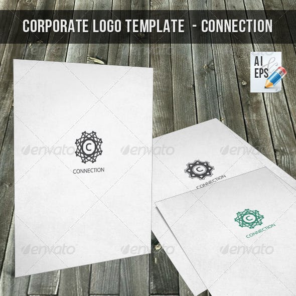 Corporate Logo Template - Connection