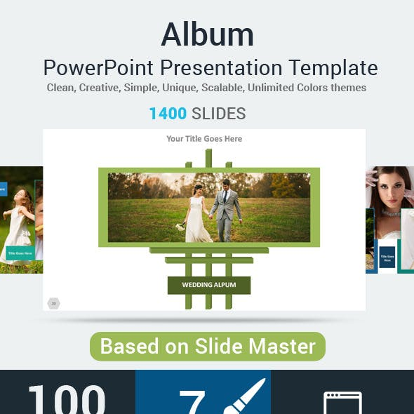 Album PowerPoint Presentation Template
