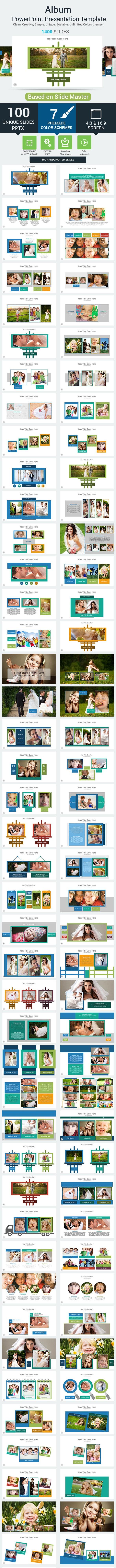 Album PowerPoint Presentation Template - Creative PowerPoint Templates