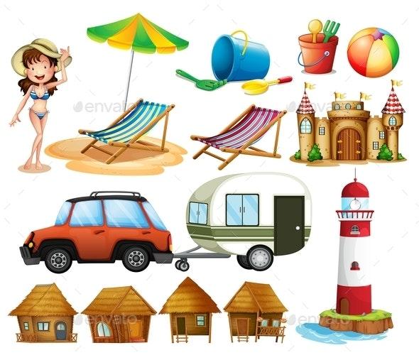 Beach - Miscellaneous Conceptual