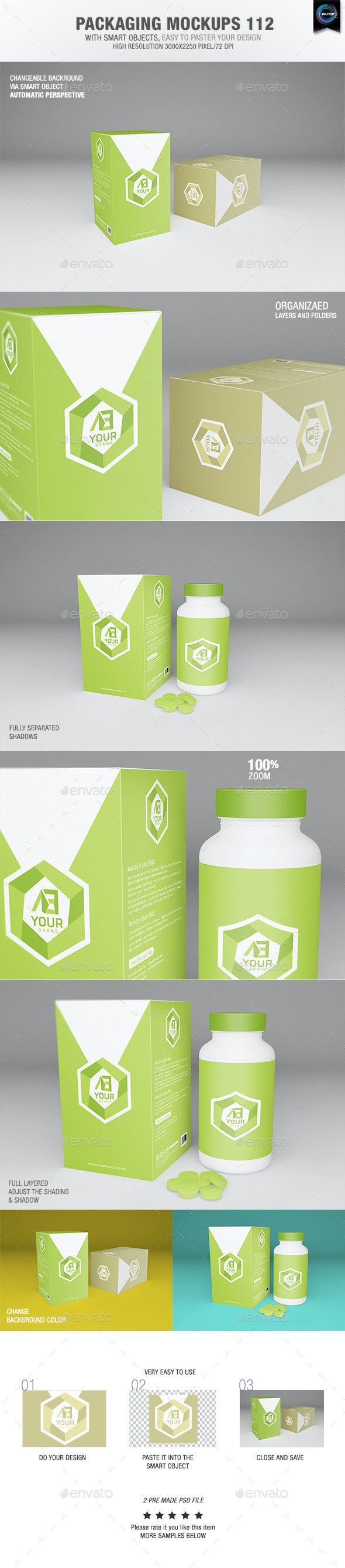 Packaging Mock-ups 112 - Packaging Product Mock-Ups