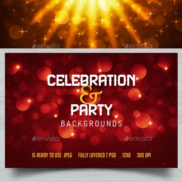 Party & Celebration Backgrounds