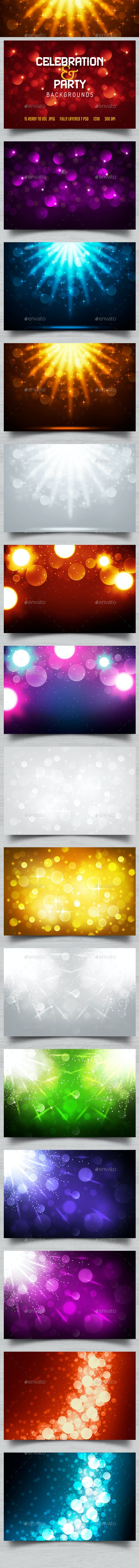 Party & Celebration Backgrounds - Backgrounds Graphics