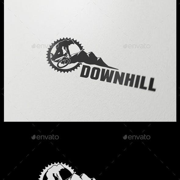Downhill Sport Logo Template