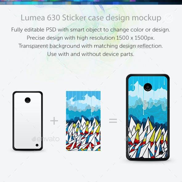 Lumea 630 Sticker Case Design Mockup