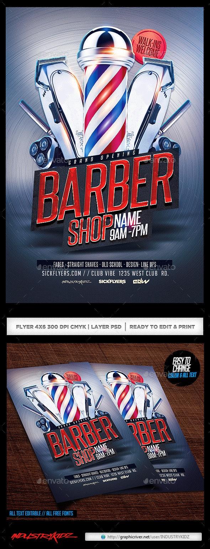 Barbershop Flyer  - Corporate Flyers