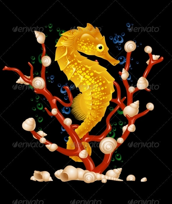 Sea horse - Animals Characters