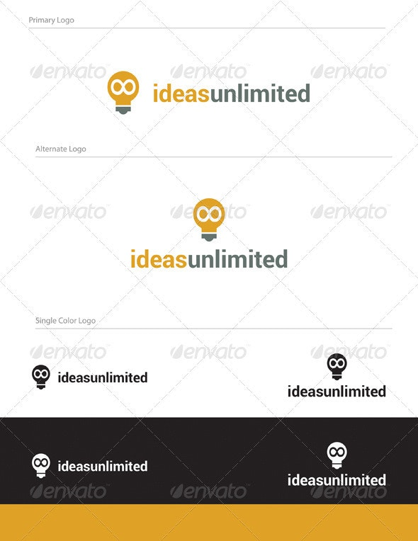 Ideas Unlimited Logo Design - OBJ-002 - Objects Logo Templates