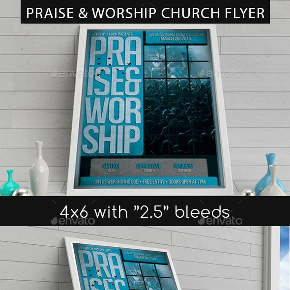 Praise And Worship Graphics, Designs & Templates