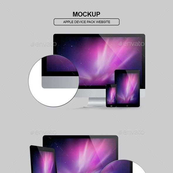 Screen Display Mockup Pack