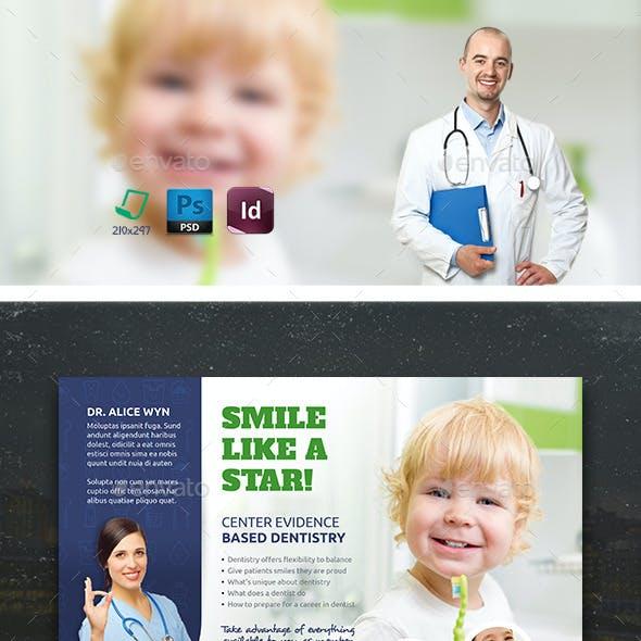 Kids Dental Flyer Templates