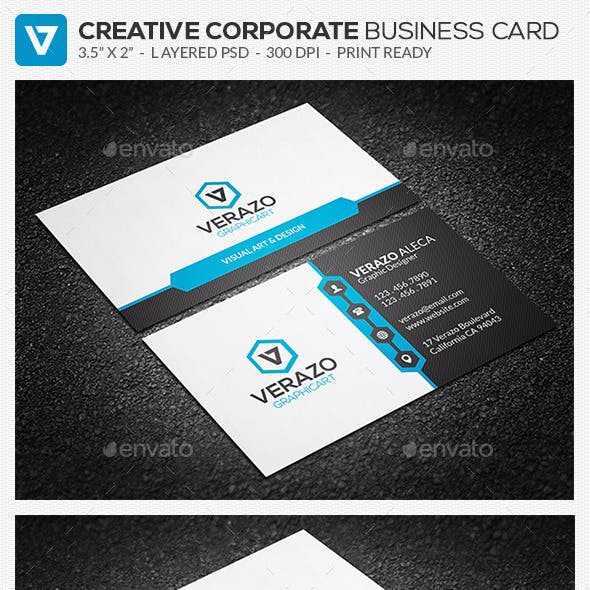 Modern Corporate Business Card 77