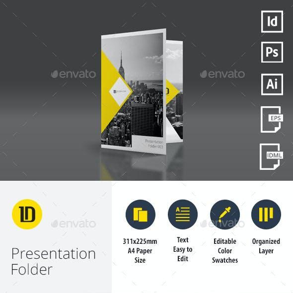 A4 Self Locking Multipurpose Presentation Folder 003
