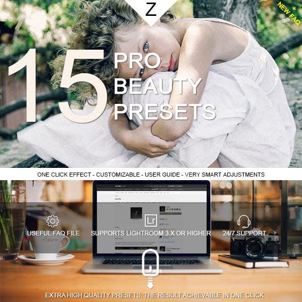 15 Pro Beauty Presets