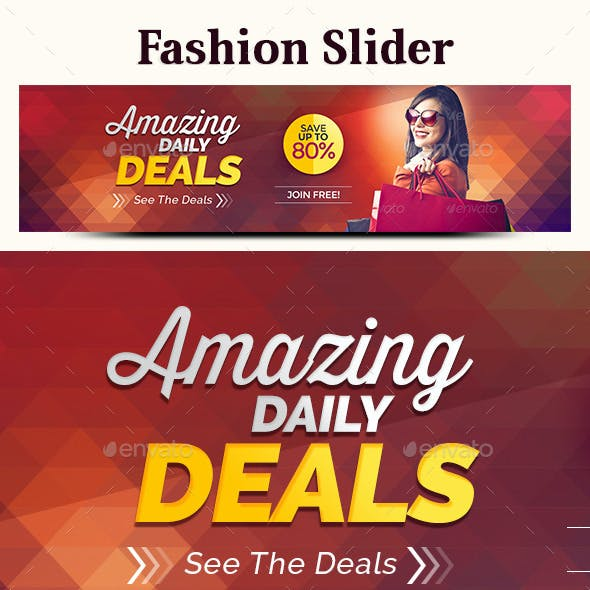 Fashion Slider
