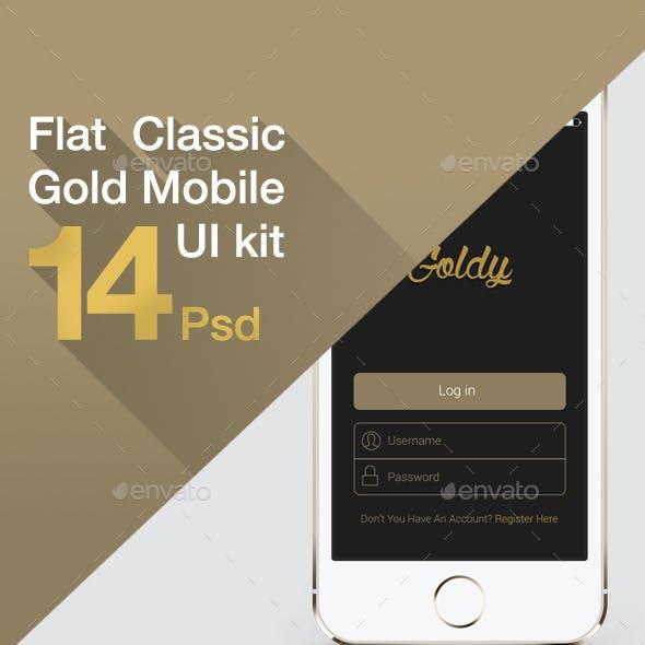 Flat Classic UI Kit